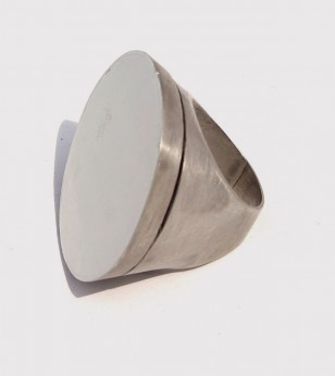 Silver, synthetic material, rubber