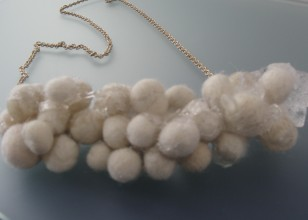 Silver, synthetics and wool